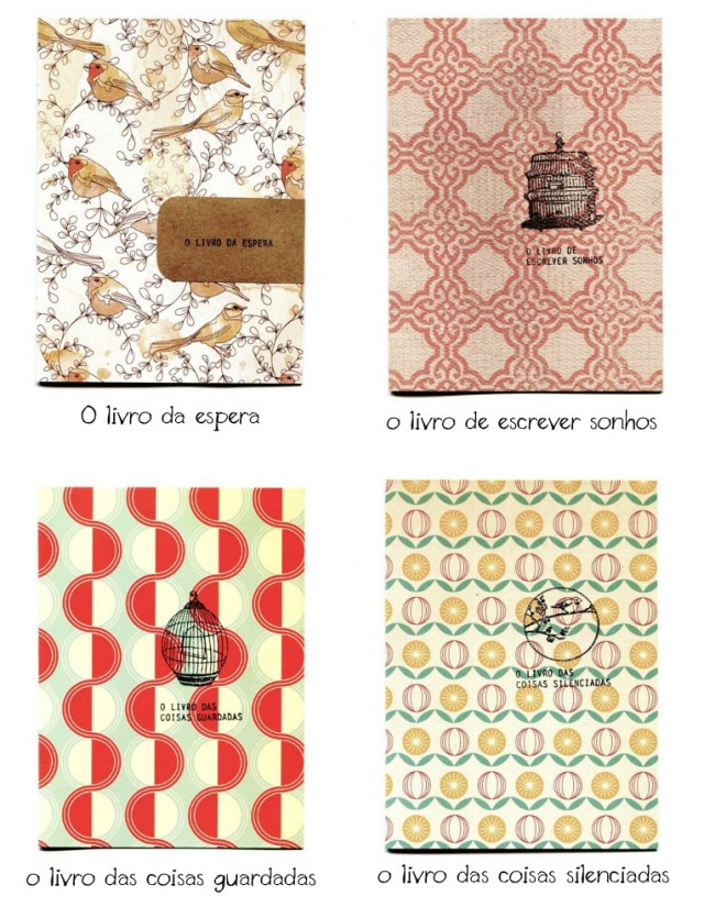 cadernos o jardim branco
