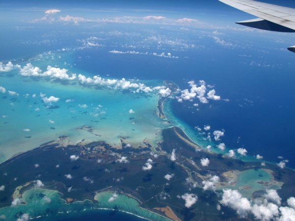 view-of-caribbean-from-airplane-window-aerial-barbados