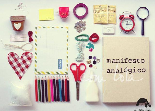 manifesto analógico