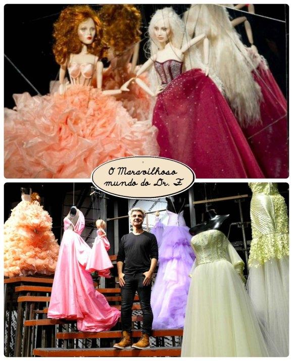 desfile de marionetes